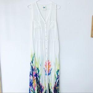 Anthropology Maxi Dress